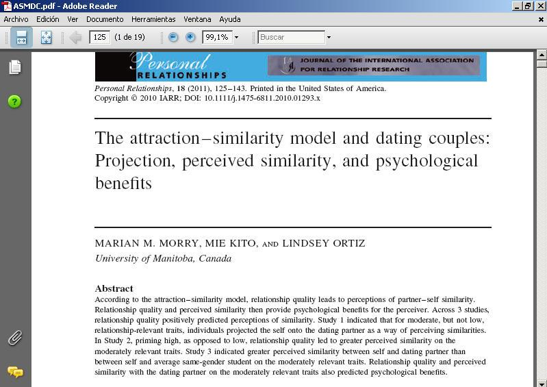 similarity attraction relationship