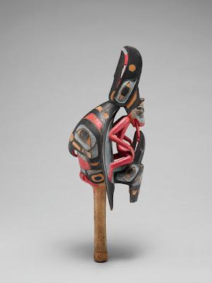 Tsimshian rave rattle: Animals in Art