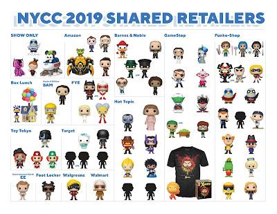 Funko's New York Comic Con 2019 Exclusive Vinyl Figures