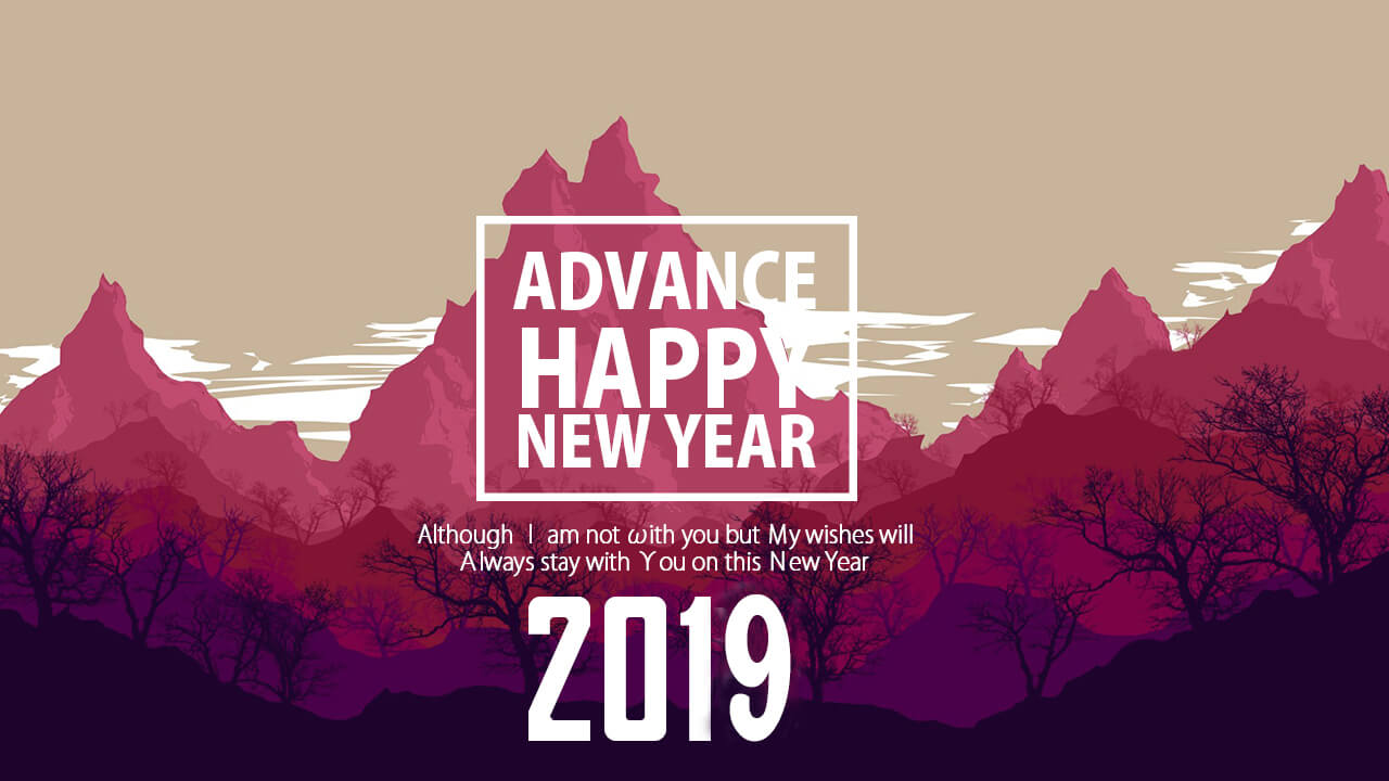 advance happy new year 2019 images, sms, wishes