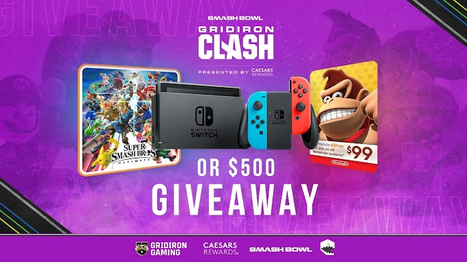 Sorteio de um Nintendo Switch Bundle ou $500 em dinheiro