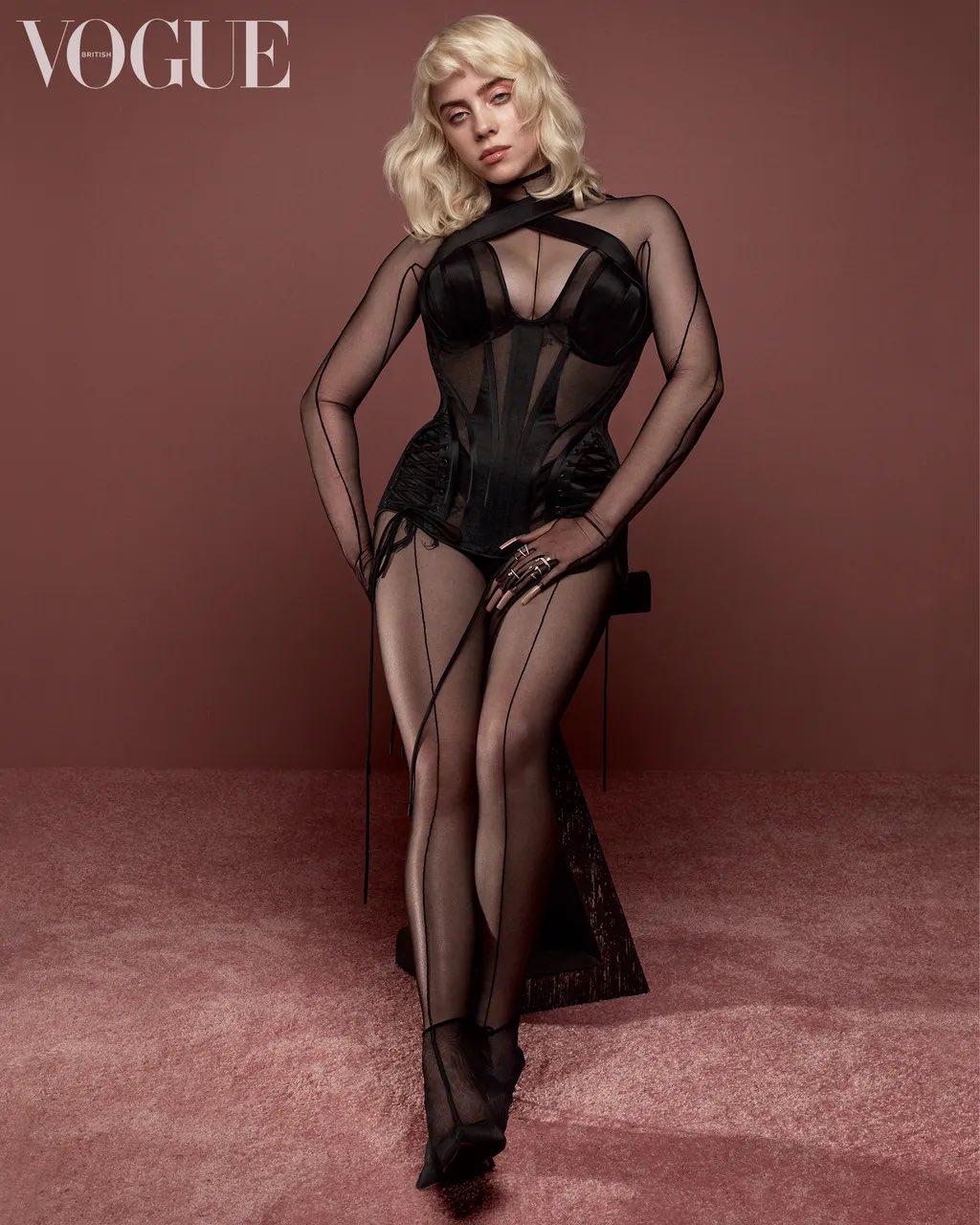 Billie Eilish Debuts New Look for British Vogue