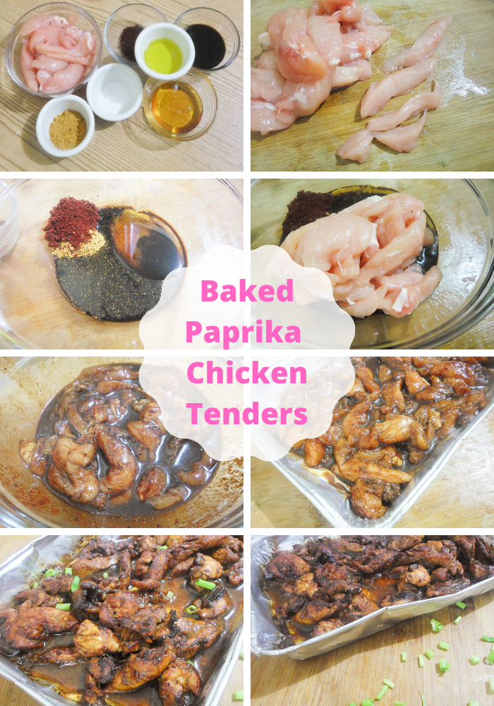 Baked chicken tenders to be added to your easy dinner ideas for the home