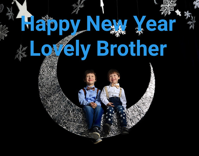 HAPPY New year wishes 2020 for brother