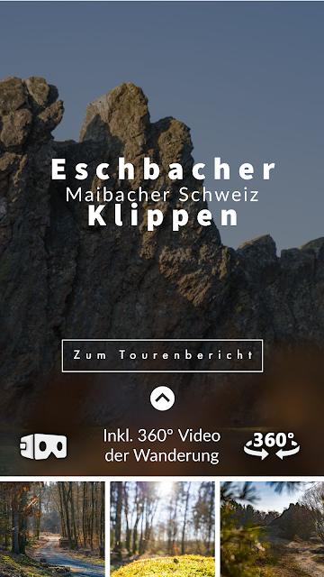 Eschbacher Klippen und Maibacher Schweiz | Wanderung rund um Michelbach im Taunus 06