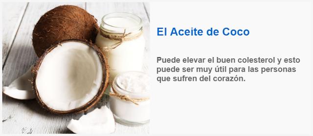 El Aceite de Coco puede elevar el buen colesterol
