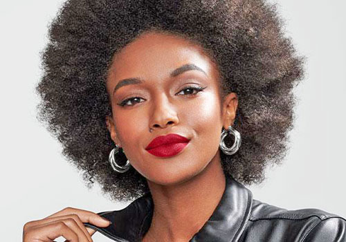 Maquillaje de labios para chicas negras