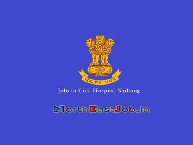 Jobs-in-Civil-Hospital-Shillong
