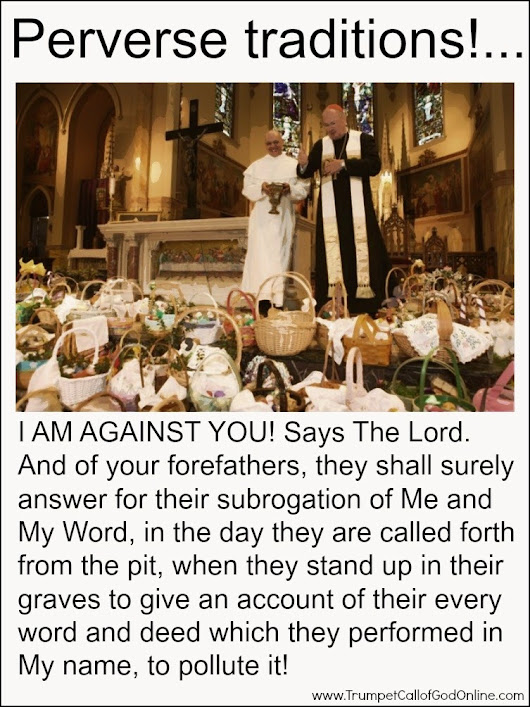 I Am Calling You Out!... Come Out of the Churches of Men and I Will Receive You! Says The Lord