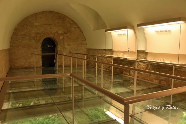 Palacio de Villardompardo, restos arqueológicos