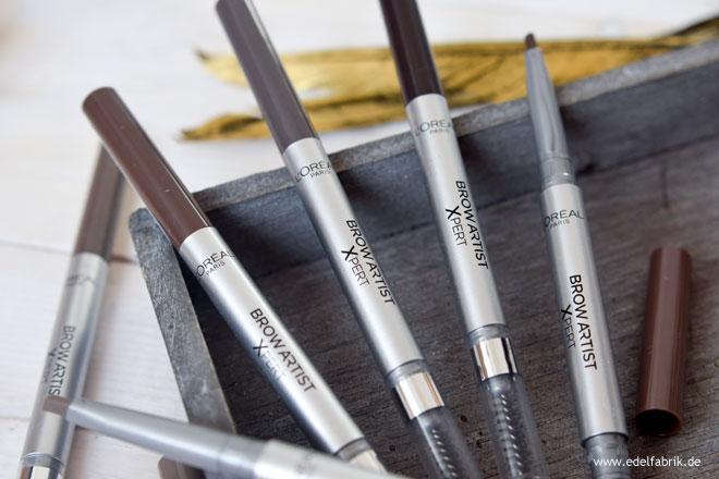 wie gut sind die L'Oréal Paris Brow Artist Xpert Stifte für die Augenbrauen
