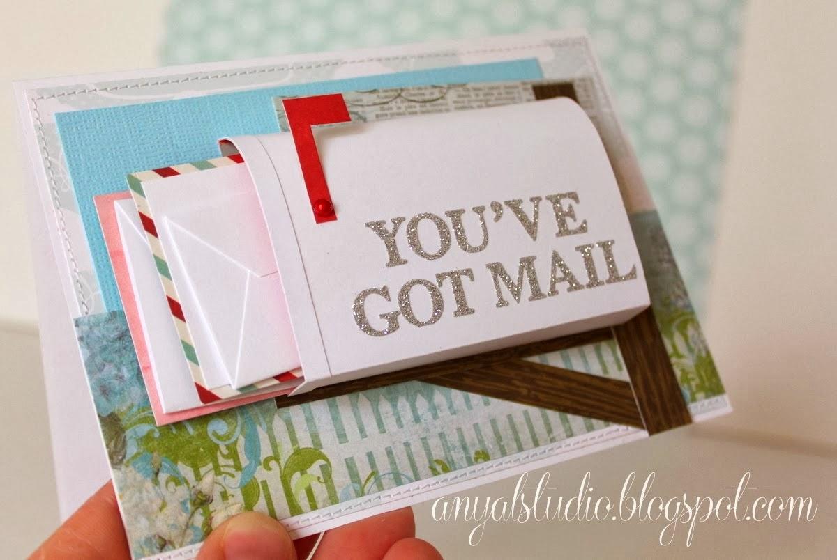 my creative corner mail box card tutorial