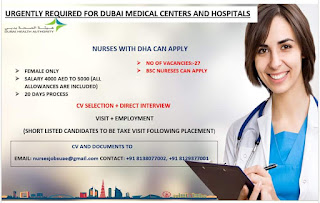 Urgently required nurses
