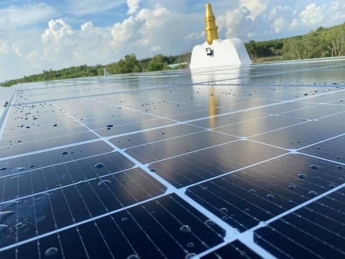 Hệ thống điện năng lượng mặt trời ở Bình Phước