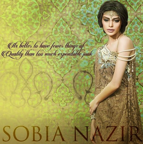 Sobia Nazir Wedding Dresses 2015