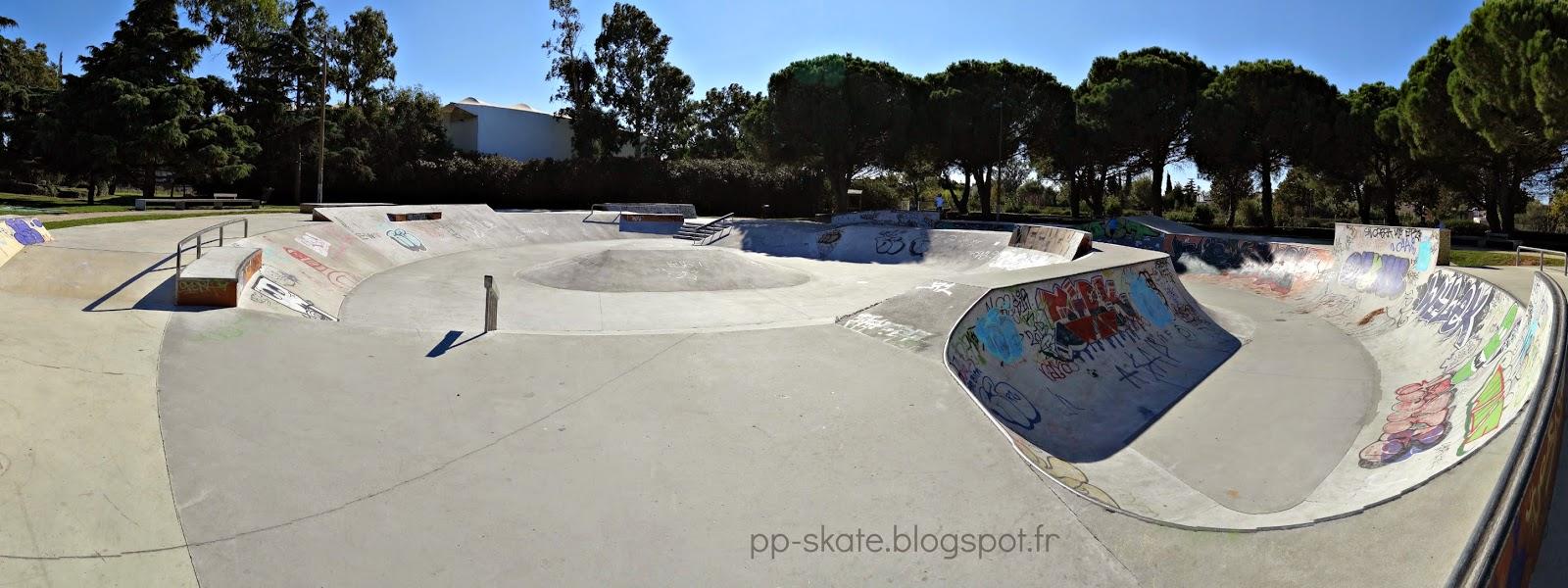 skatepark bowl Fos sur mer