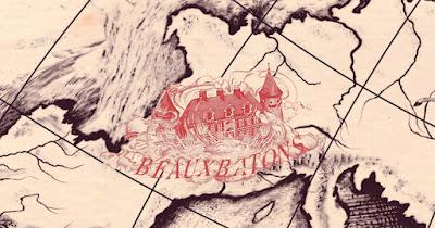 Accademia della Magia di Beauxbatons nella mappa delle Scuole