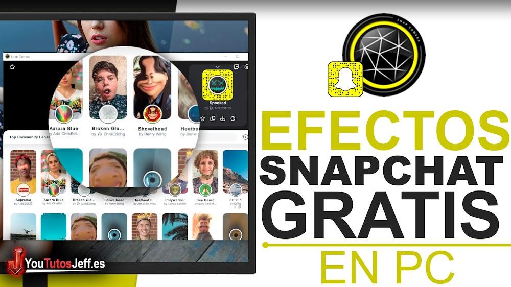 Descargar Camara Snapchat PC 2021   Filtros de SnapChat