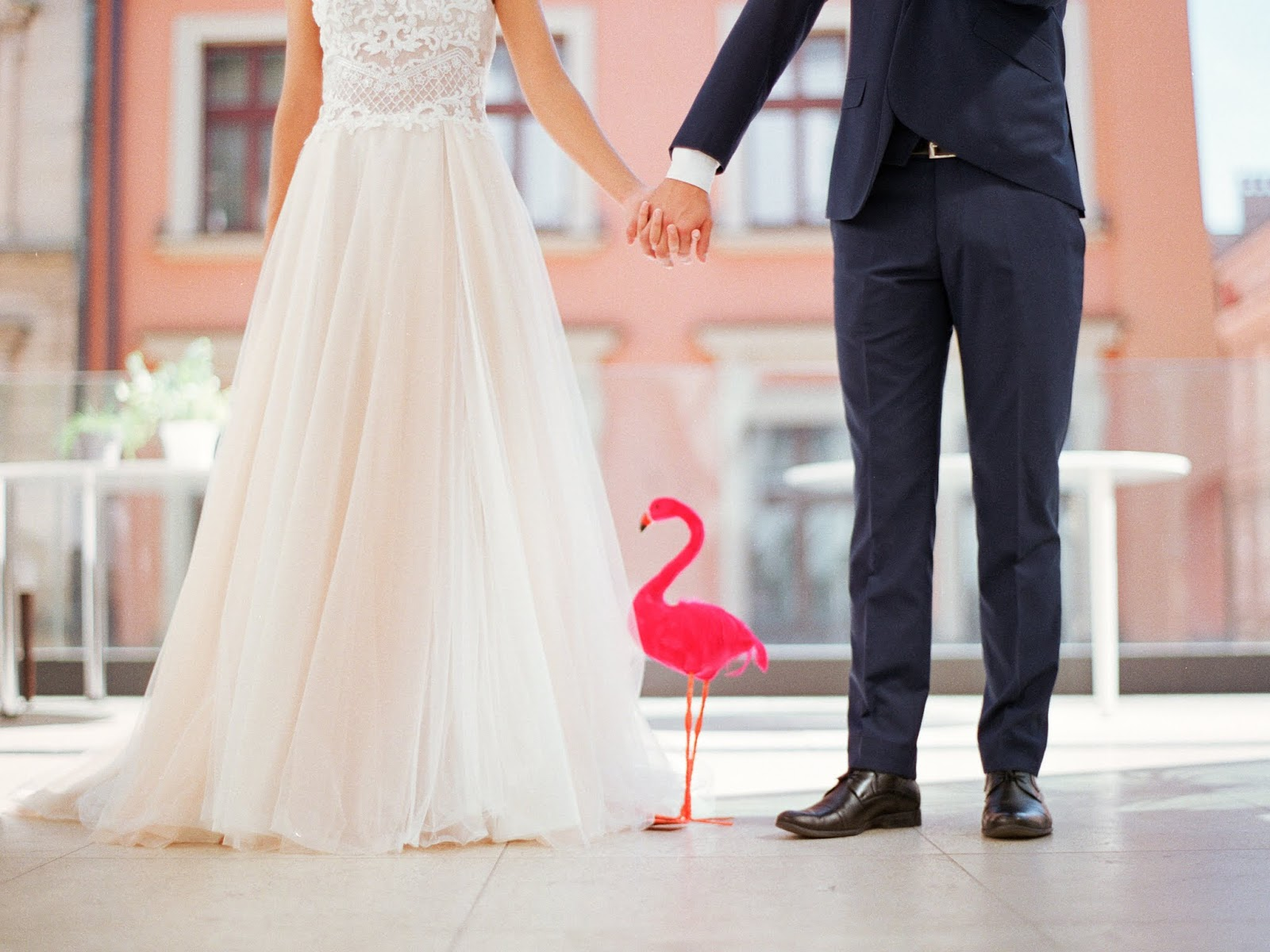 Sweet Flamingo wedding