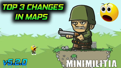 Top Three Changes in Maps in Mini Militia New Update v5.2.0