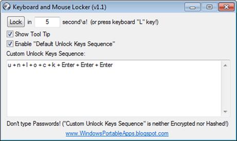Bloquear el teclado y el mouse de tu ordenador portátil