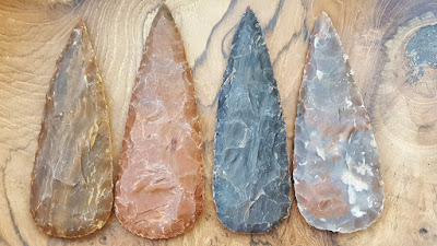 Clovis Style Arrowheads