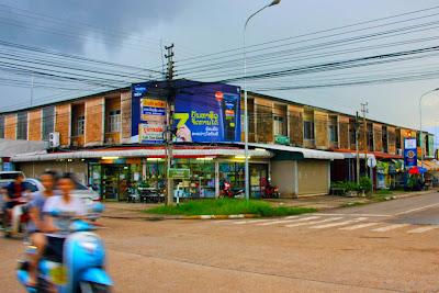 Vieux marché de Savannakhet