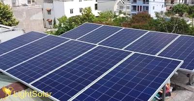 lắp đặt hệ thống pin năng lượng mặt trời cho hộ gia đình