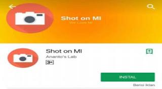 Cara Buat Watermark Shot On MI Xiaomi