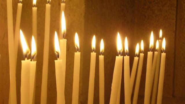 la lumière les bougies