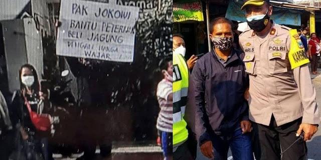 Pria Bentang Poster di Blitar, Mardani: Dia Tak Menghina Presiden Kenapa Ditangkap?