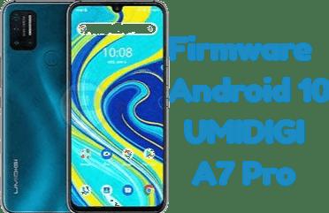 تفليش وتحديث جهاز  Stock Firmware Android 10 UMIDIGI A7 Pro