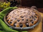 Ароматен сладкиш с грозде и орехи * Torta all uva e noci