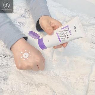 Kem chống nắng tinh thể nước thay bước dưỡng da