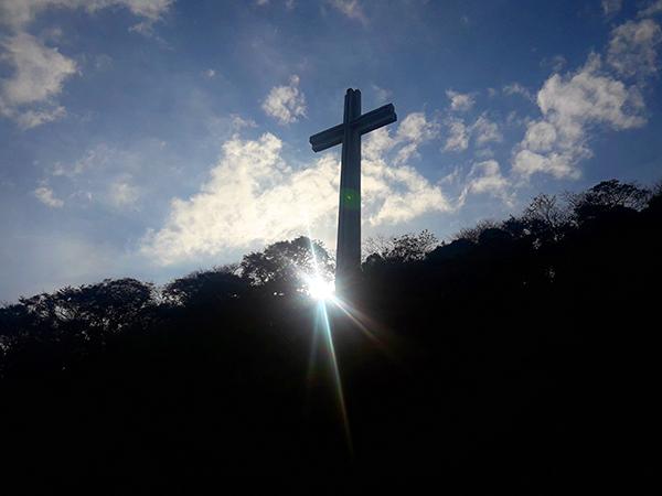 Mt. Samat cross