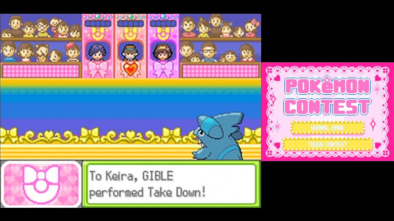 Contest Pokemon - Acting Competition