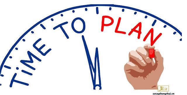 kế hoạch thời gian