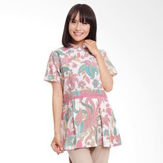 Contoh Blouse Batik Wanita Terbaru