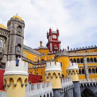 Το κάστρο Pena Palace στην Πορτογαλία