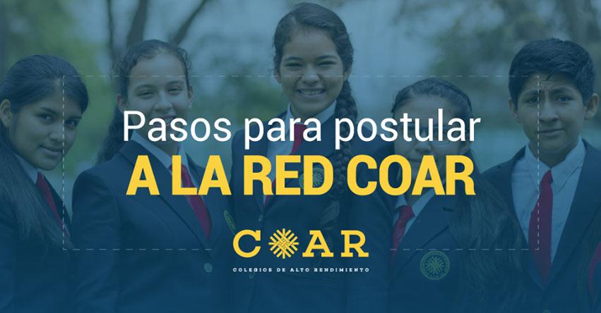 COAR ADMISIÓN 2018: Inscripción de Postulante (Pasos Para Postular) Colegios de Alto Rendimiento - MINEDU - www.minedu.gob.pe