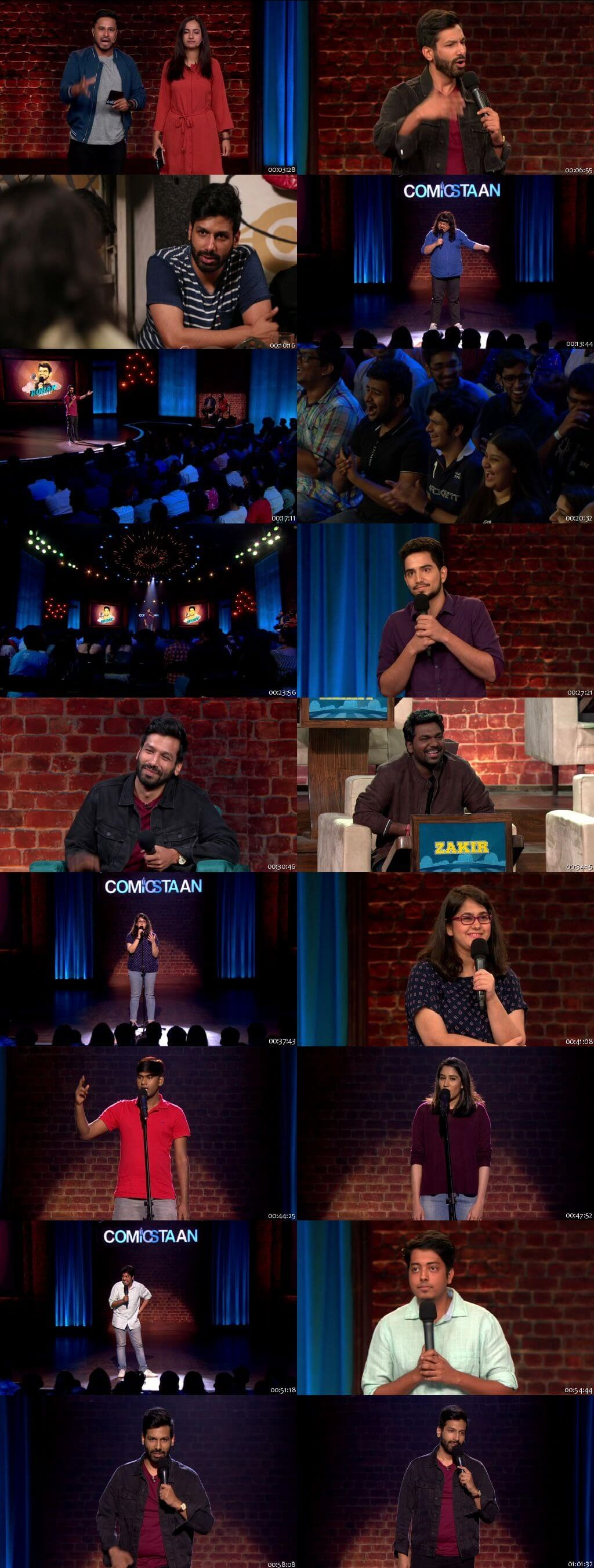 Screenshots Of Hindi Show Comicstaan Season 02 2019 Complete - All Episodes 300MB 720P HD