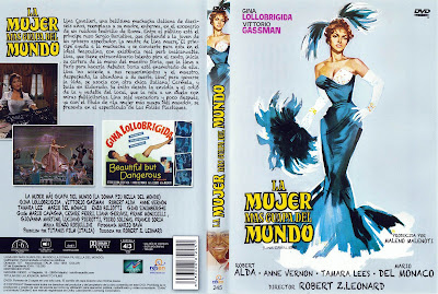 Carátula - La mujer más guapa del mundo - Gina Lollobrigida