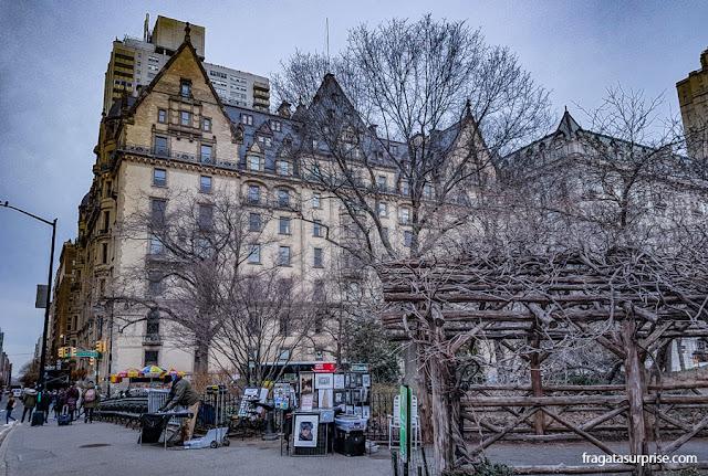 Edifício Dakota, onde John Lennon morou em Nova York