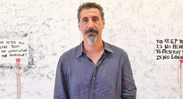 Serj Tankian pide suspender visitas a Turquia