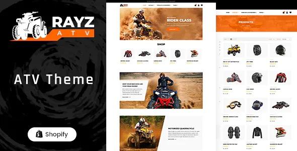 Best ATV Motorsports Shopify Theme
