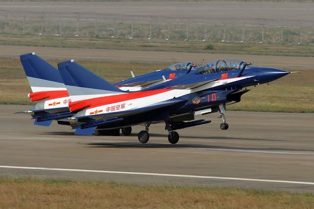 China August 1st Aerobatic Team Dubai
