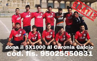 sostieni il Caronia Calcio donando loro il 5 x 1000