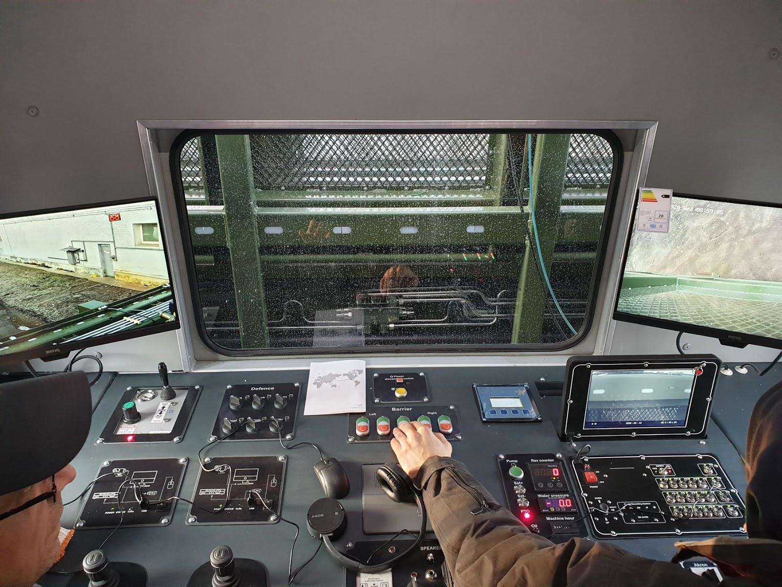 У Києві виготовили машини для контролю над вуличними заворушеннями