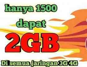 Senang banget pastinya jika mendapatkan harga paket data internet murah dengan kuota yang Cara mengaktifkan paket internet Murah Tri kuota data 2Gb Harga Rp.1500
