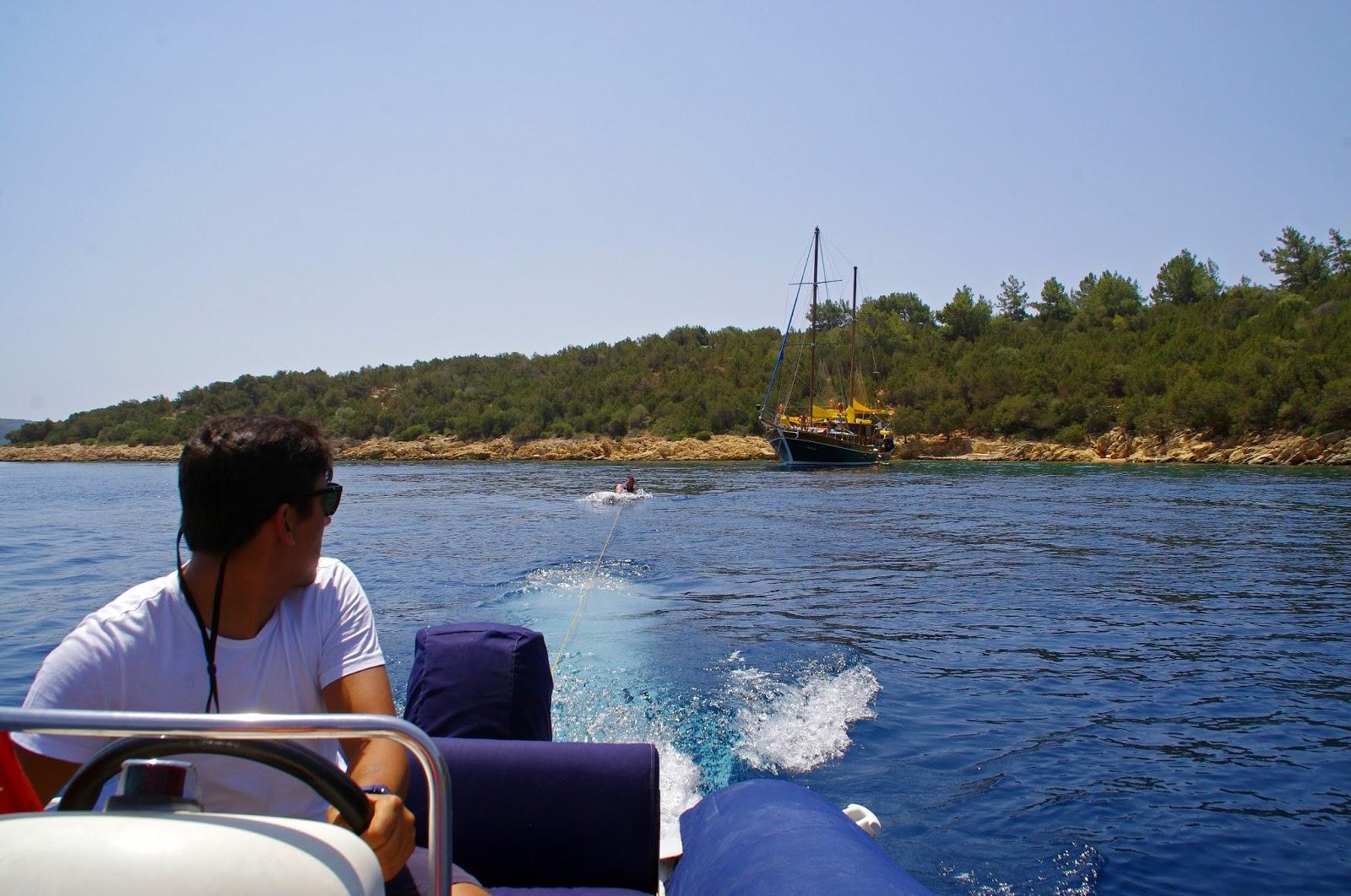 Kneeboarding in Turkey